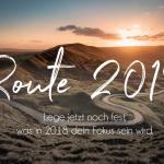 Klarheits-Challenge ROUTE 2018 – lege jetzt noch fest, was in 2018 dein Fokus sein wird