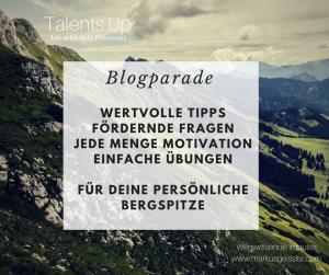 Blogparade 1