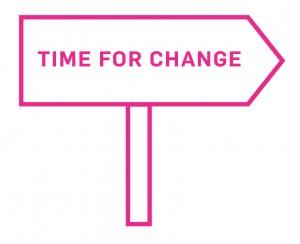 CHANGE-SCHILD